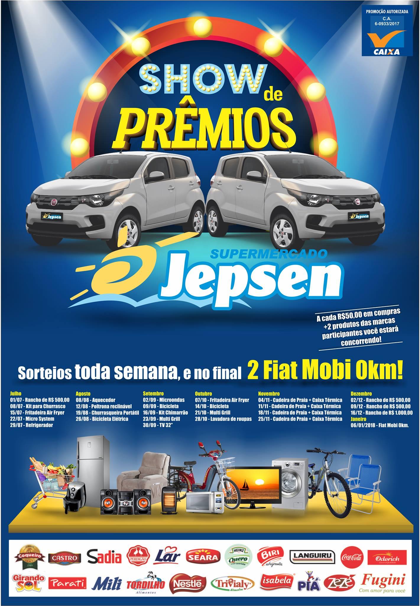 Show de Prêmios Supermercados Jepsen